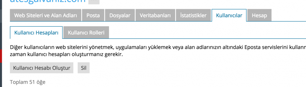 Plesk12 web Arayüzü